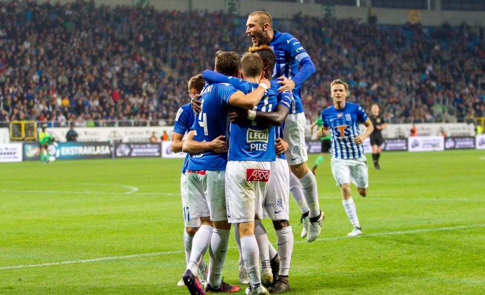 Image result for Lech Poznan vs Leczna